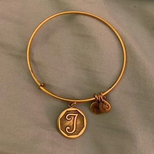 "Alex and Ani ""T"" Bangle"
